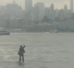 NYC Paddle Boarding Commuter