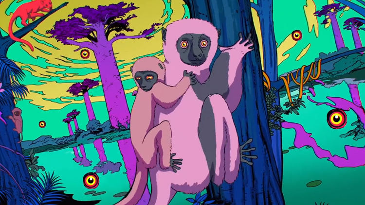 Wild and Vibrant Animated Video Promoting San Diego Zoo's 'Africa Rocks' Exhibit