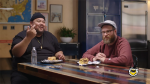 Seth Rogen Taste-Tests Secret Fast-Food Burgers and Crowns a Winner