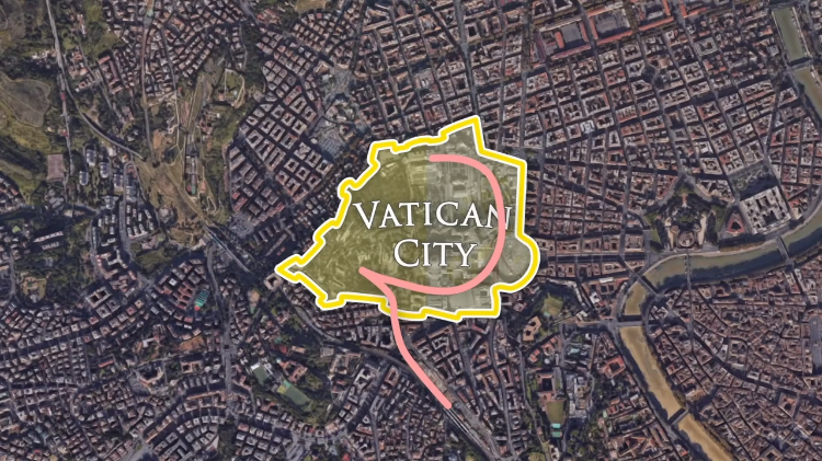 Vatican City Railroad