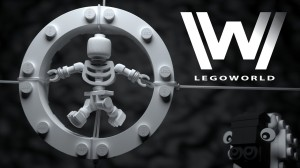 Westworld in LEGO