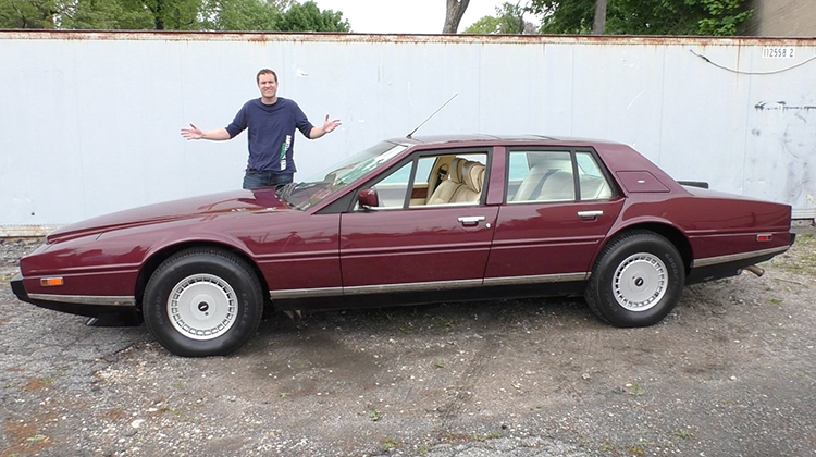 Why the Aston Martin Lagonda Is One of the Weirdest Luxury Car Ever Made