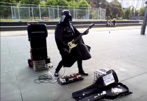 Darth Busker Bass Vader Melbourne