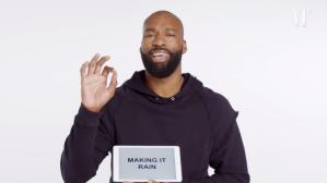 Former NBA Star Baron Davis Gives a Lesson on Basketball Slang