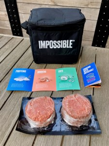 Impossible Burger Meat