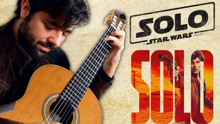 A Beautiful Classical Fingerstyle Acoustic Guitar Cover of the 'Solo: A Star Wars Story' Musical Theme