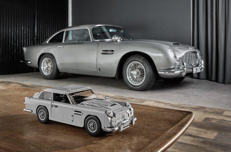2018 LEGO Creator Expert James Bond Aston Martin DB5
