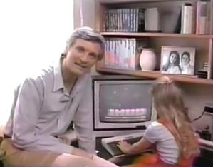 Alan Alda Atari Computer Commercial