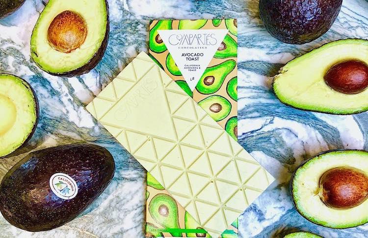 A Limited Edition Avocado Toast Chocolate Bar