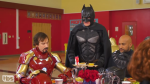 Batman Tries to Join Marvel Table