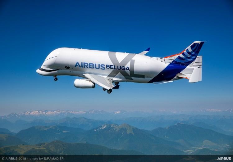 BelugaXL-First-Flight-Air-To-Air-033