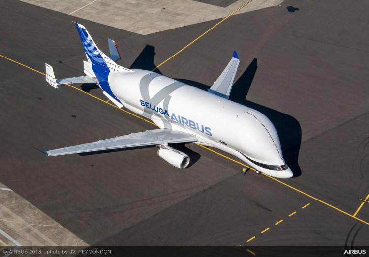 BelugaXL-First-Flight-Morning-Aerial-View-009