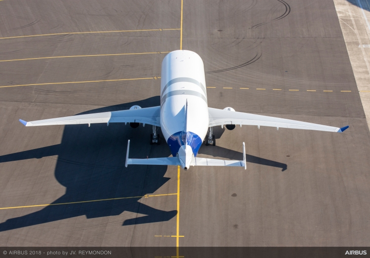 BelugaXL-First-Flight-Morning-Aerial-View-031