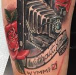 Camera Tattoo Proposal