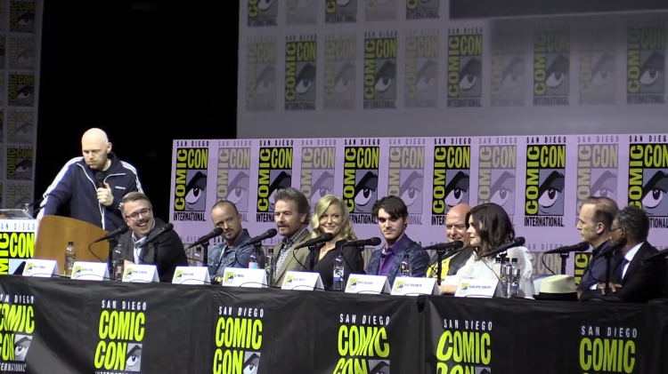 The Primary Cast of Breaking Bad Reunites for the Show's Tenth Anniversary at San Diego Comic-Con