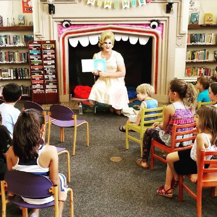 Drag Queen Story Hour, Pop Up Events That Share the Magic of Stories With a Message of Acceptance