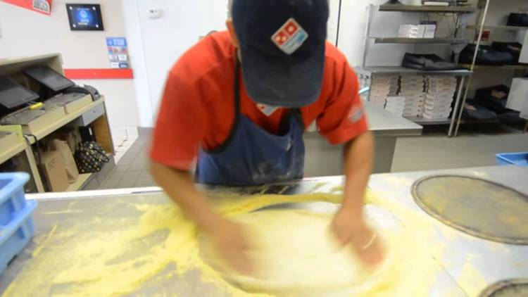 Making Three Pizzas in 39.7 Seconds