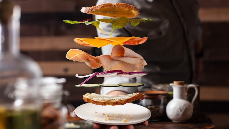 How to Make Food Appear to Fly in Photographs