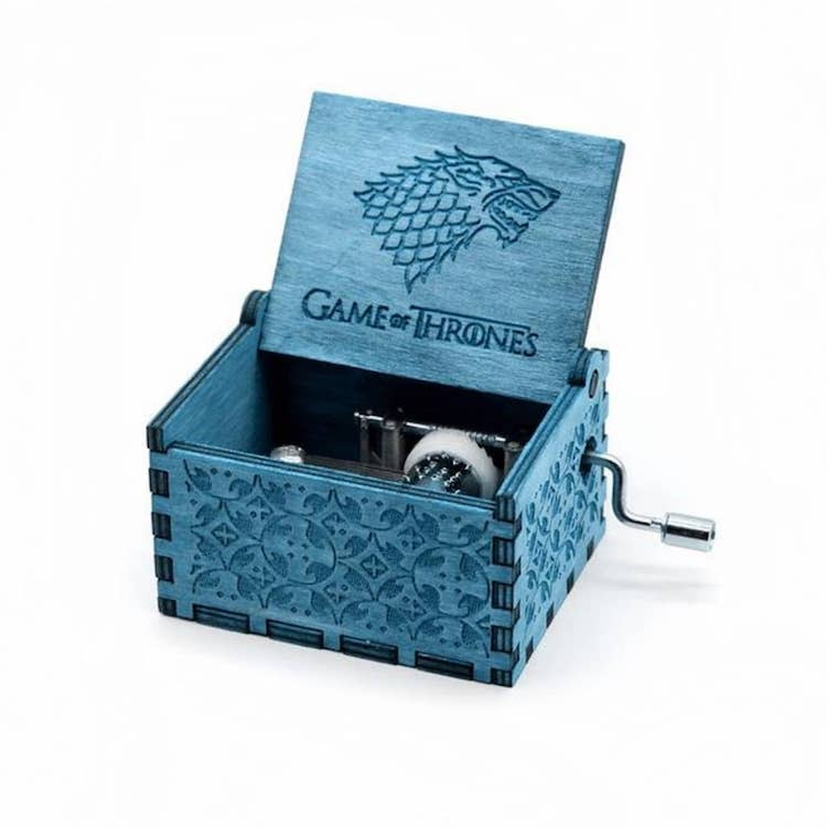 Tiny Hand-Cranked Music Boxes Featuring Game of Thrones, Harry Potter, and Star Wars