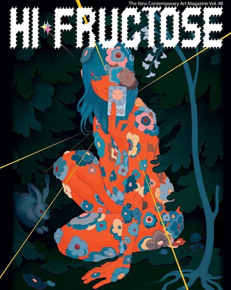 A Preview of the Stunning Artwork Featured in Volume 48 of Hi-Fructose Magazine