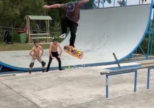 Impossible Skateboard Flip