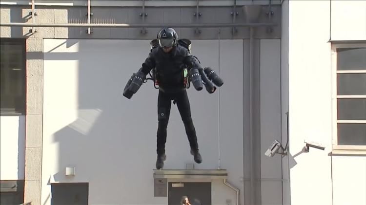 Jet Propulsion Iron Man Suit