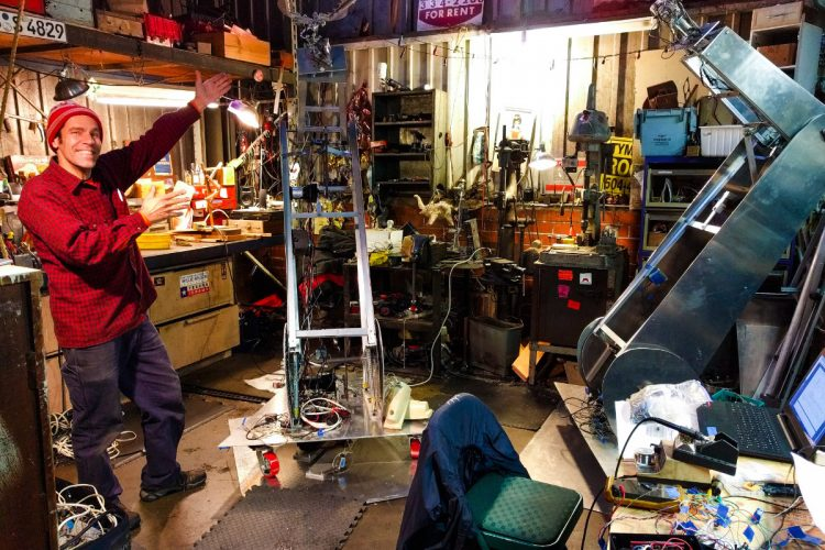 San Francisco Artist Evicted From His Warehouse Is Raising Funds for a Place to Relocate His Robots