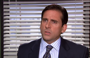 Michael Scott of The Office