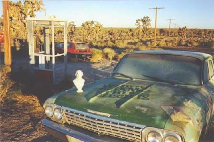 Mojave Phone Booth Car