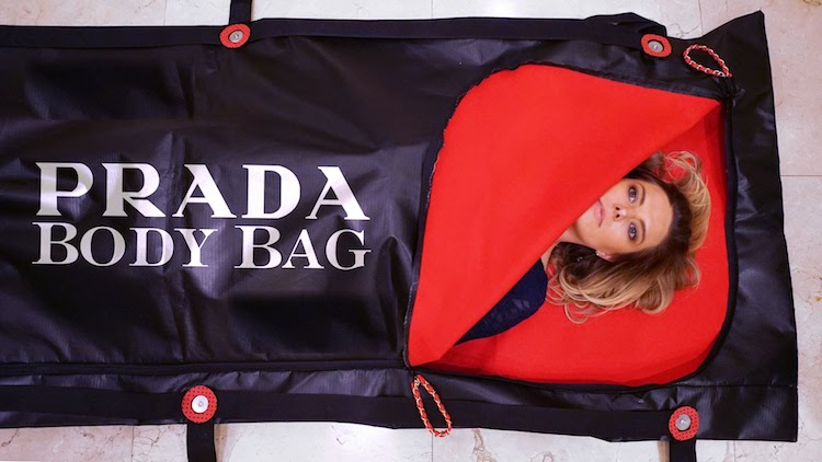 The Prada Body Bag, A Most Elegant Way to Make a Final Impression of Wealth That Lasts Forever