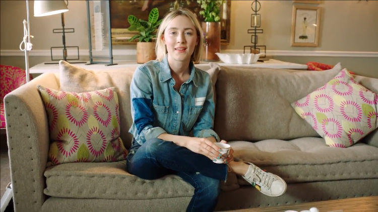 Saoirse Ronan Talks About Her Name, Her Favorite Causes While Answering 73 Questions During Tea