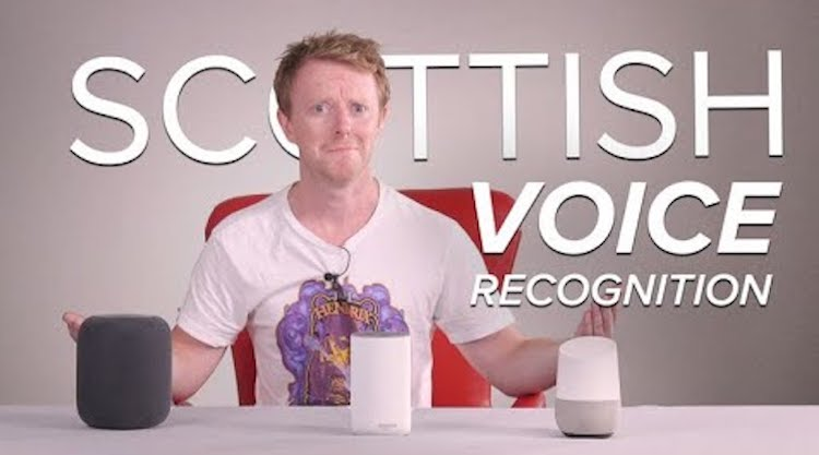 Scottish Editor Tests Siri, Alexa and Google Voice Assistant to See Which Understands His Accent
