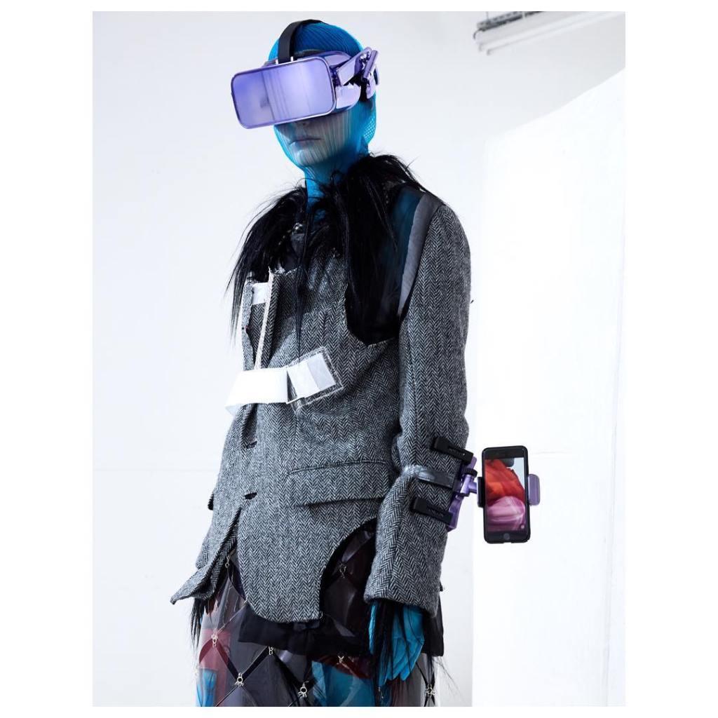 Attachable Smartphone Cases Transformed Into Haute Couture at a Maison Margiela Fashion Show