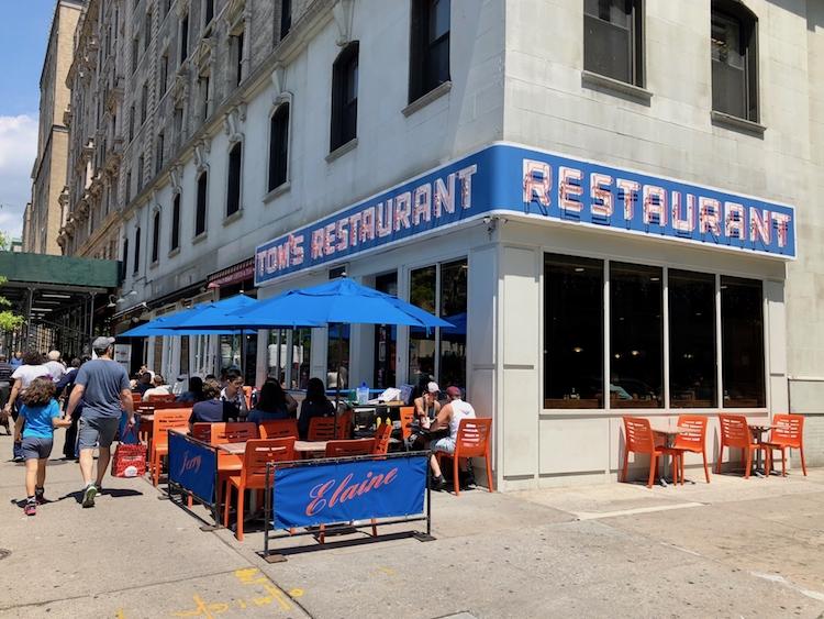 Tom's Restaurant, The Exterior of Seinfeld's Monk's Café & Inspiration For Suzanne Vega's 'Tom's Diner'