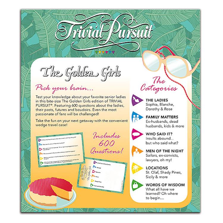 Trivial Pursuit Golden Girls Card