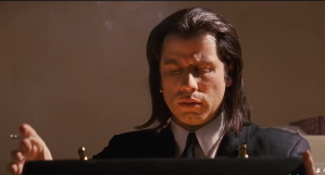 What's In the Briefcase Pulp Fiction