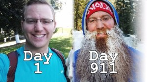 911 Days Without Shaving