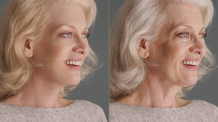 Stunning Side-by-Side 4K Footage Showing How Visual Effects Can Completely Erase Signs of Aging