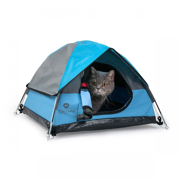 Cat Camp, Petite Indoor/Outdoor Tents for Felines
