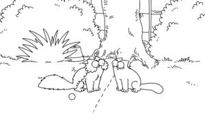 Simon's Cat Borderline