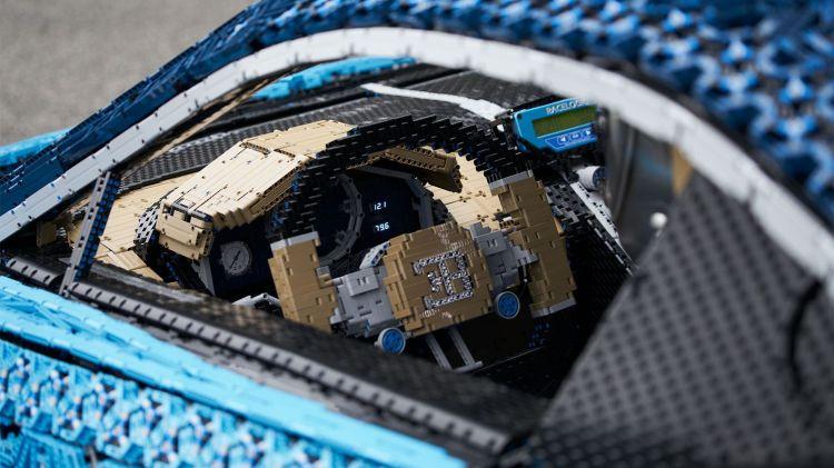Bugatti LEGO Interior