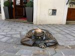 Cumil Man at Work Bratislava Slovakia