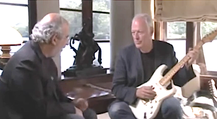 David Gilmour of Pink Floyd Shares How He Creates His Brilliantly Distinctive Sound on Guitar