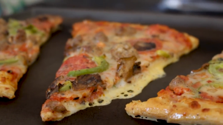 How to Reconstitute Leftover Pizza to Its Former Glory With a Simple French Toast Batter