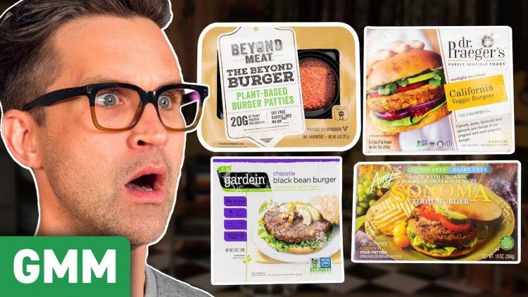 GMM Rhett and Link Veggie Burgers