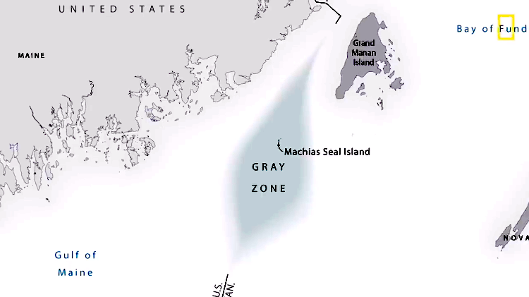 A Tiny Island In the Gulf of Maine That Remains a Disputed Gray Zone Between the U.S. and Canada