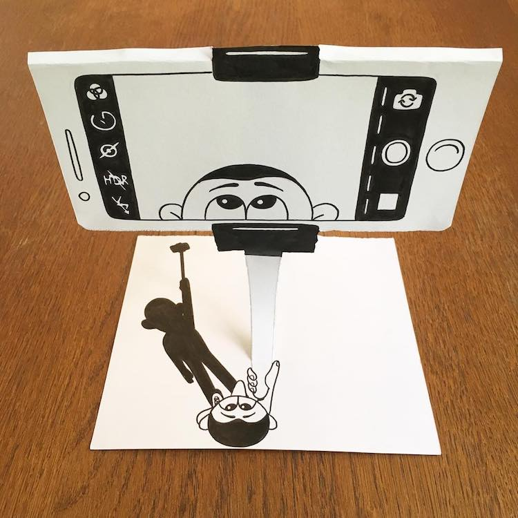 Huskmitnavn brilliant 3d drawings that jump right off the page with creative