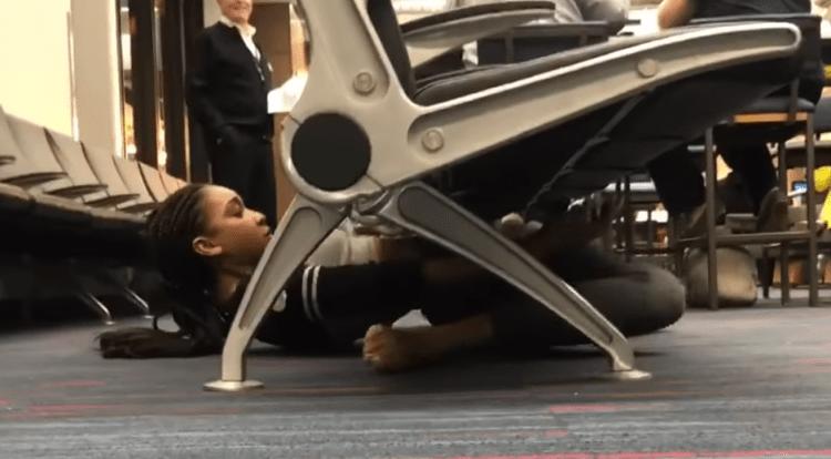 Limbo in Airport