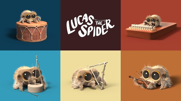 Lucas the Spider One Man Band