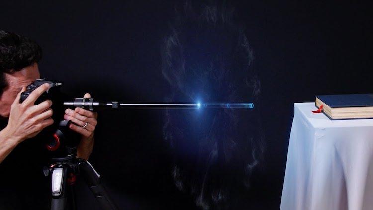 Probe Lens Bullet Demonstration